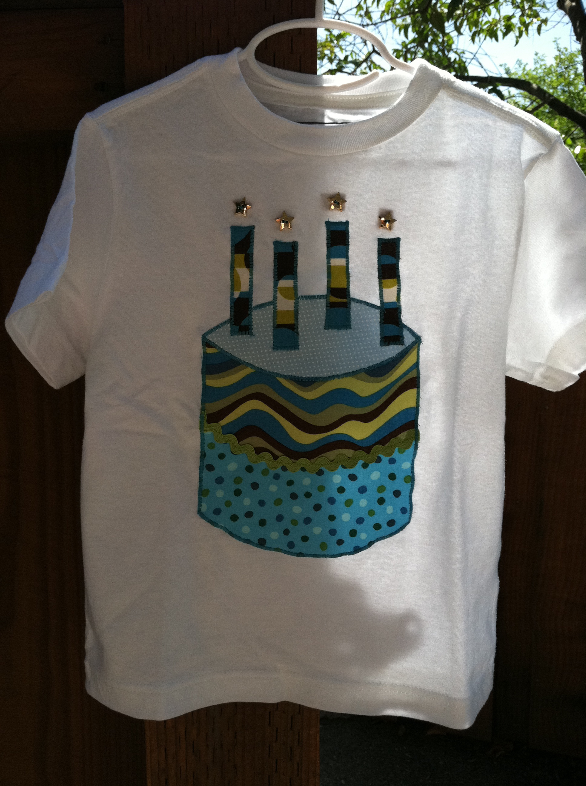 Four Year Old Boy Birthday Shirt